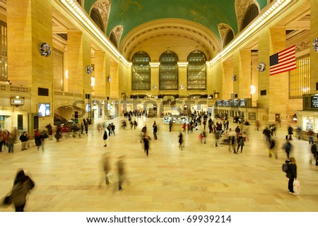 Grand Central Station, New York - stock photo