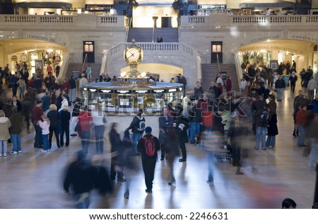 Grand Central Station NYC - stock photo