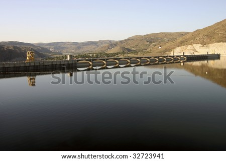 Grand Coulee Dam - stock photo