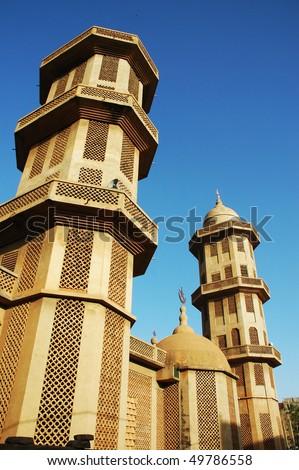 Grand mosque in Ouagadougou in Burkina Faso - stock photo