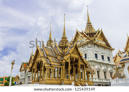 Grand palace bangkok,thailand. - stock photo