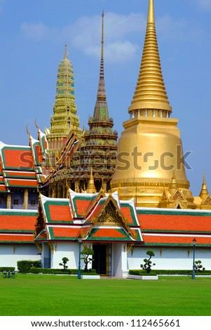 Grand palace bangkok, THAILLAND - stock photo