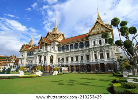 Grand Palace in Bangkok, Thailand - stock photo