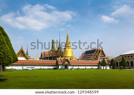 Grand palace in thailand - stock photo