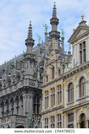 Grand  Place Belgium - stock photo