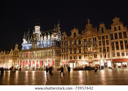 Grand Place - Brussels, Belgium - stock photo