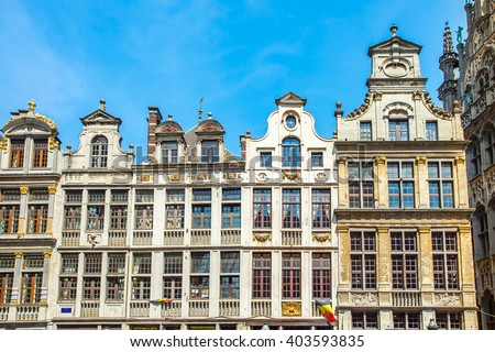 Grand Place (Grote Markt) in Brussels, Belgium.