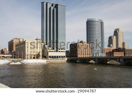 Grand Rapids, Michigan - stock photo