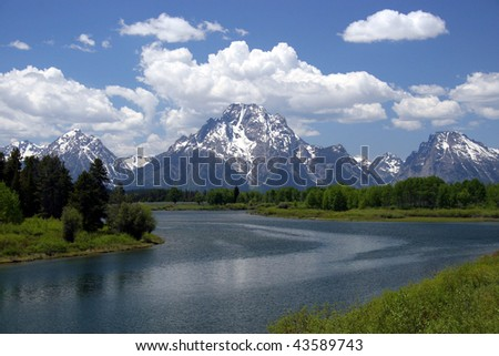 Grand Tetons national park,Wyoming