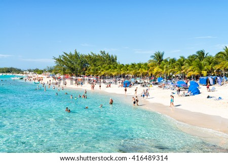 Grand Turk Turks Caicos February Stock Photo - Turks and caicos cruise ship schedule