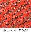 Grandma's floral print pattern! - stock photo