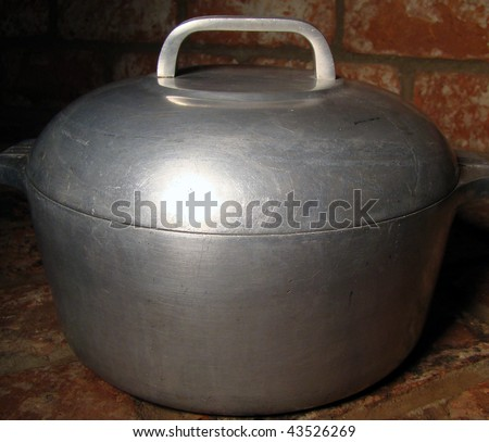 Grandma's Old Cooking Pot
