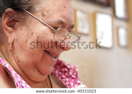 Grandmother - stock photo