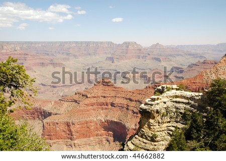 Grandview Point overlook - stock photo
