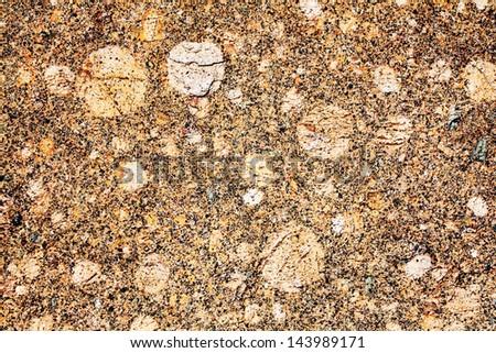 Granite - natural background close up. - stock photo