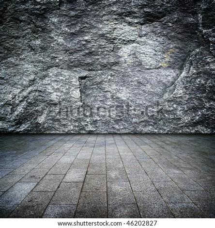 granite room - stock photo