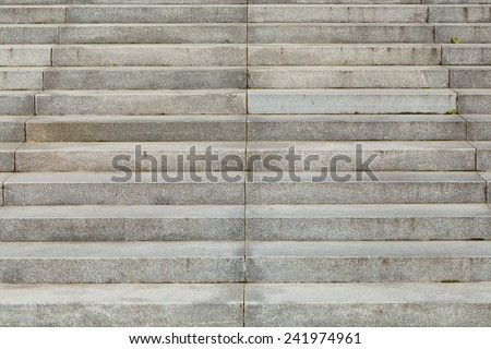 Granite stairs steps background - construction detail - stock photo