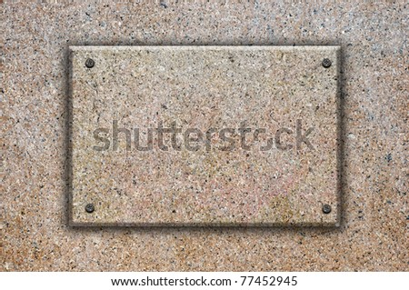 granite stone background - stock photo