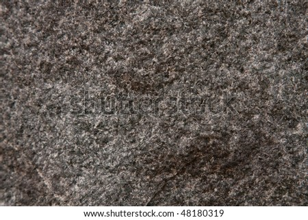 Granite Stone Texture Background. Black Stone with white freckles