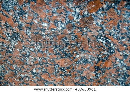 Granite wall pattern close view. Natural texture background - stock photo