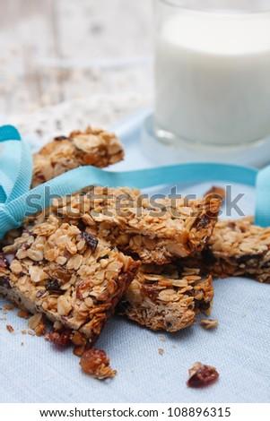 Granola bars - stock photo