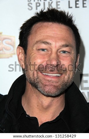 "Grant Bowler at the Opening of ""Mike Tyson: Undisputed Truth,"" Pantages, Hollywood, CA 03-29-13"