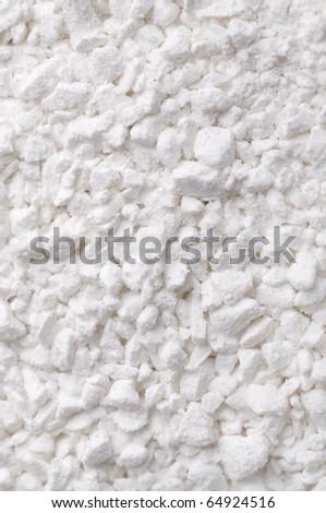 Granulated pool chlorine - stock photo