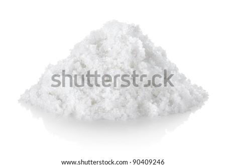 Granulated sugar - stock photo