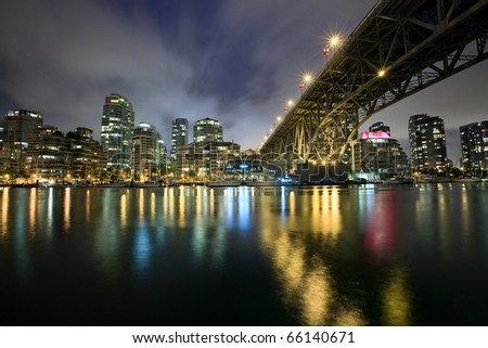 Granville_Bridge - stock photo