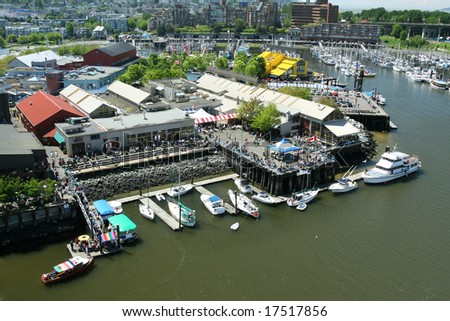 Granville Island Market - stock photo