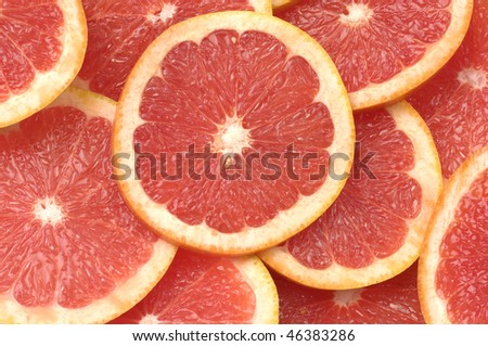 grapefruit cut