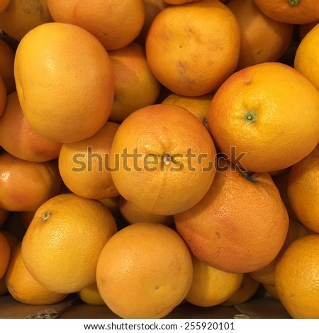 Grapefruits background, Healthy eating concept - stock photo