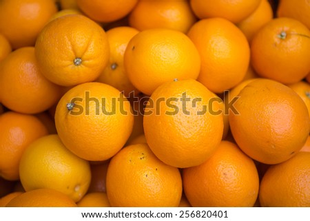 Grapefruits background, Healthy eating, orange - stock photo