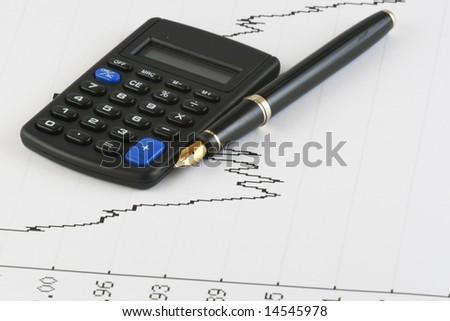 graph - stock photo