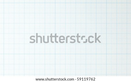Graph grid paper - stock photo
