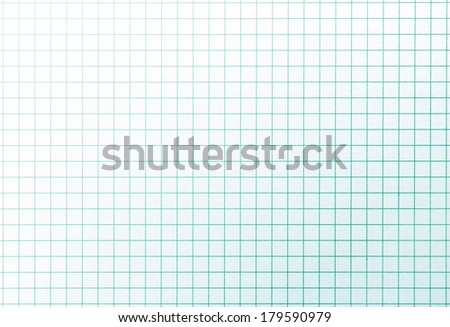 Graph grid paper with highlight. - stock photo
