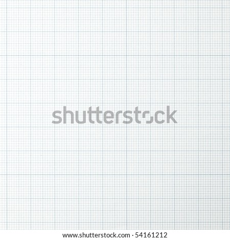 graph grid scale paper. Shot square to image dimension. - stock photo