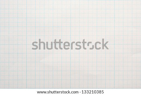 graph paper background - stock photo