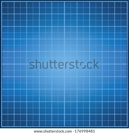 Graph paper pattern. Real scale. - stock photo