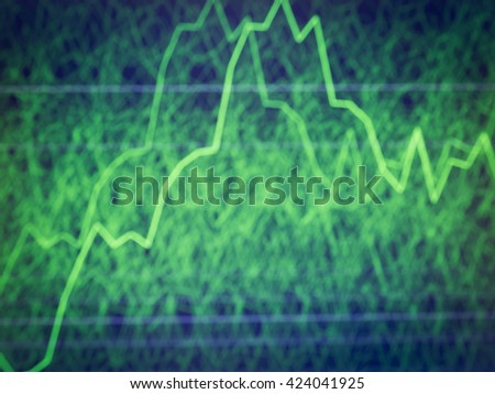 graph stock blur for background - stock photo