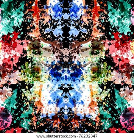 graphic design background colors - stock photo