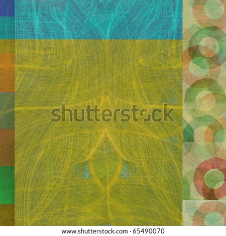 graphic design background composition with circles - stock photo