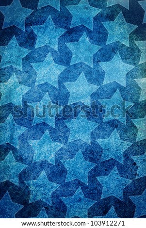 Graphic Design (Vintage Background) - Made In USA - Flag Element - stock photo