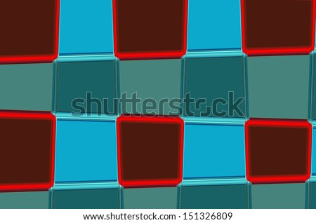 graphic from Rear Light car abstract pattern - stock photo