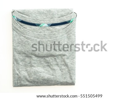 Grat t-shirt isolated on white background