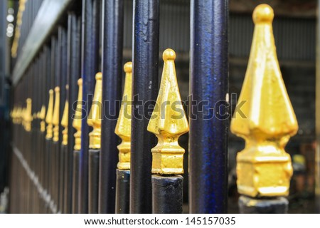 Grating is gold. - stock photo