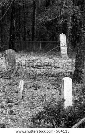 Grave Site - stock photo