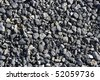 gravel gray stone textures for asphalt mix concrete - stock photo