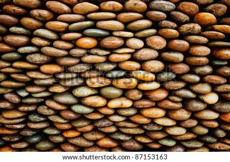 Gravel texture - stock photo