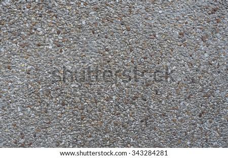 Gravel texture background pattern - stock photo